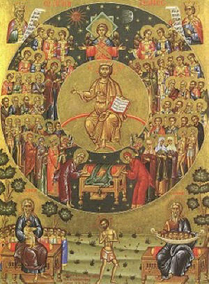 20000 holy martyrs for Christ burned in Nicomedia