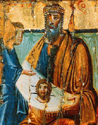 Abgar-with-image-of-Edessa10thcentury-Monastery-Saint_Ekaterina-Sinai