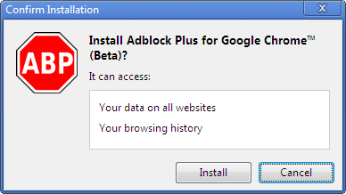 Adblock-Plus-for-Google-Chrome-install-plugin-yes-or-no-prompt-screenshot-linux-windows-macos