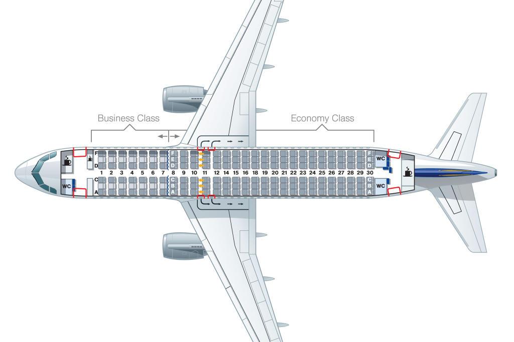 Airbus-A320-LH-168-Lufthansa-passengers-placing
