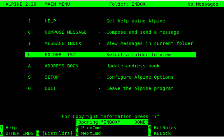 Mutt-text-console-linux-email-client
