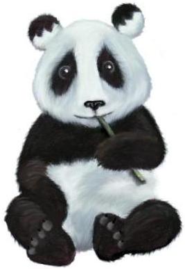 Amanda_the_panda_mascot_of_window_maker-graphical-environment-system