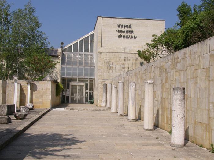 Archeological-Museum-Great-Preslav-near-Patleina-and-Veliki-preslav-remains