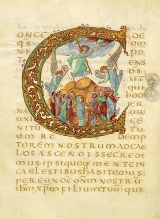 Ascension-Drago-sacramentary-320px-Enluminure_Drogon_c