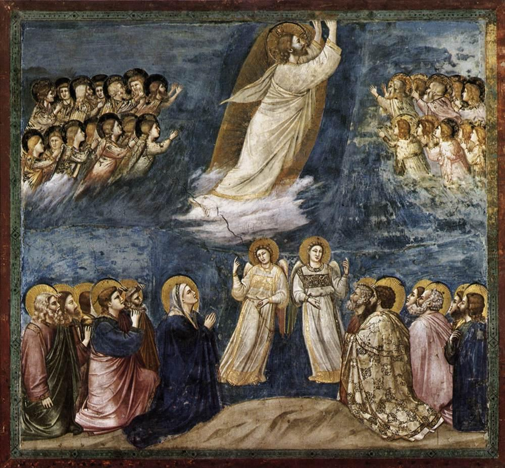 Ascension-of-Christ-Giotto-1304-1306-AD-Scrovegni-chapel-Padua-Italy