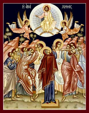 Ascension-of-Christ-old-Greek-icon