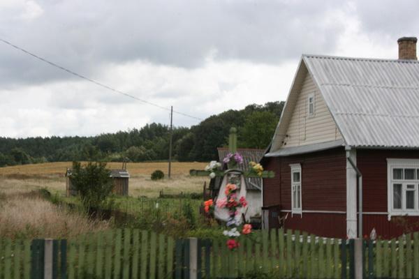 Belarus-ex-USSR-village-Cross