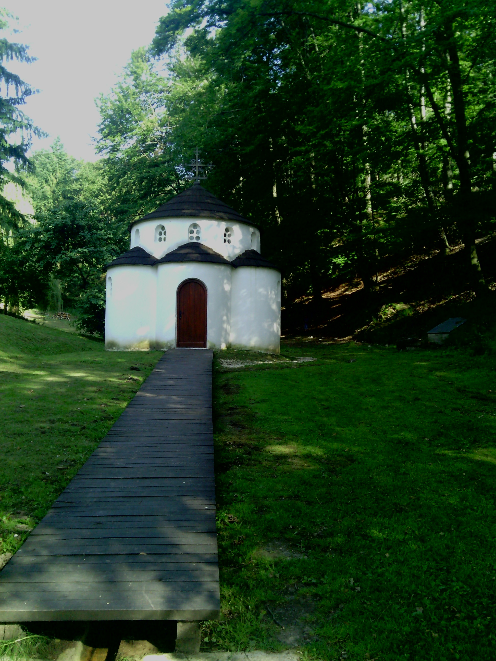 Paraklis (Small Baptismal Chapel Kaona Monastery)