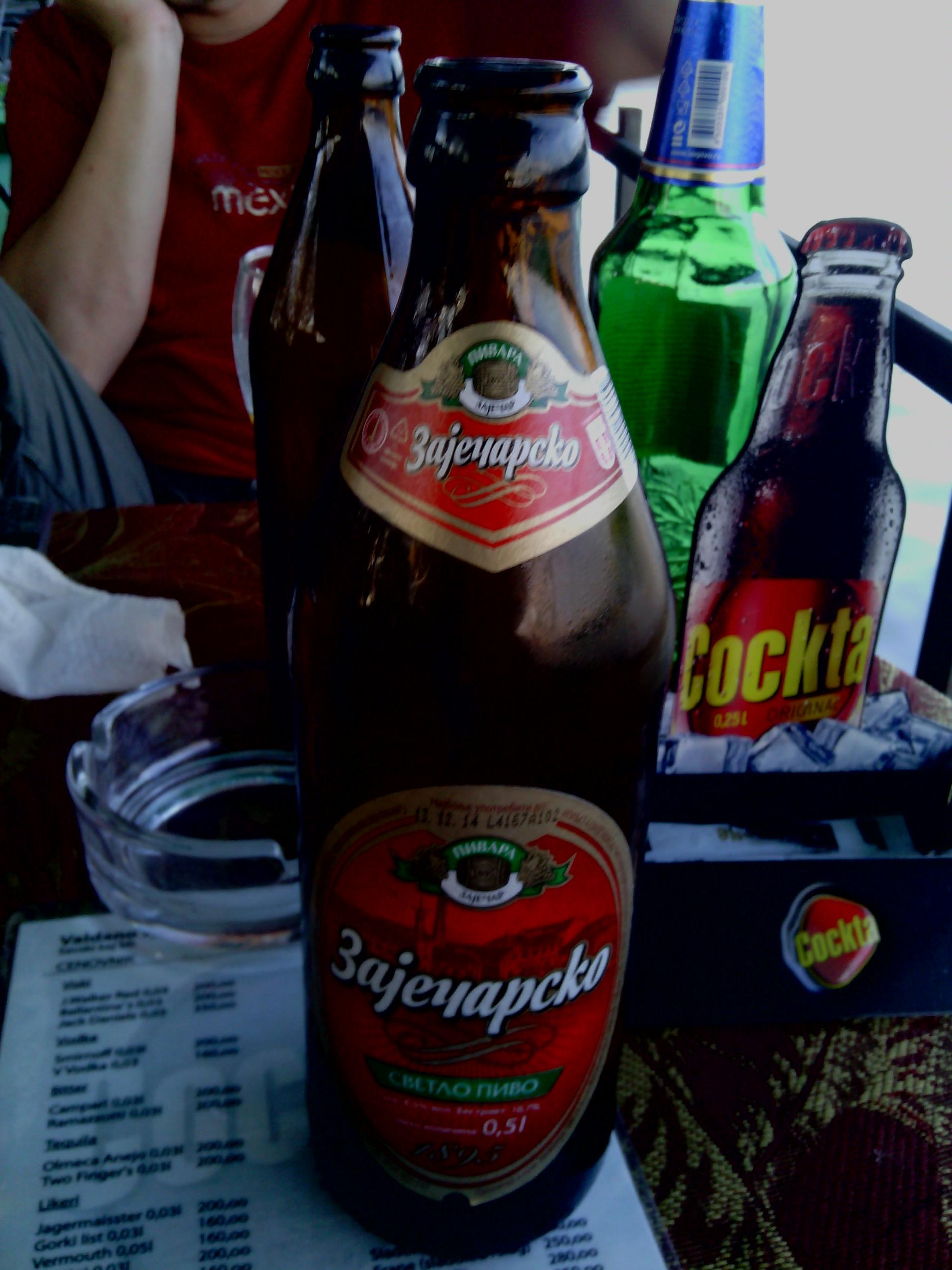 Rabbit drink / Zaicharsko Serbian beer