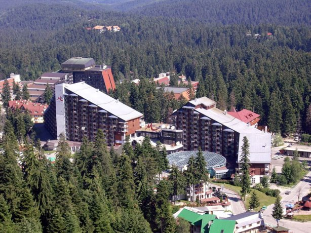 Borovetz first bulgarian resort for ski and lifting cool place in Bulgaria