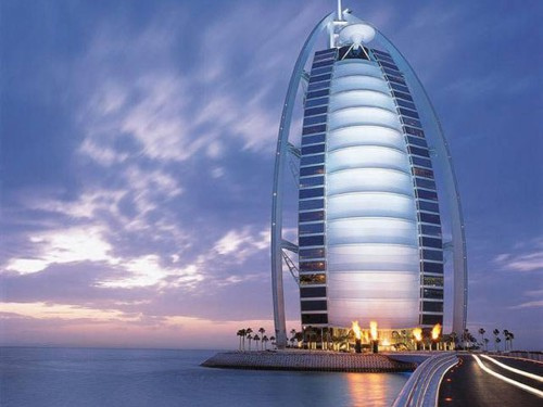 Burj Al Arab and the 360 degree club