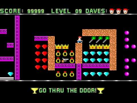 Dangerous_Dave_Level-9-classic-old-school-arcade-mario-like-game