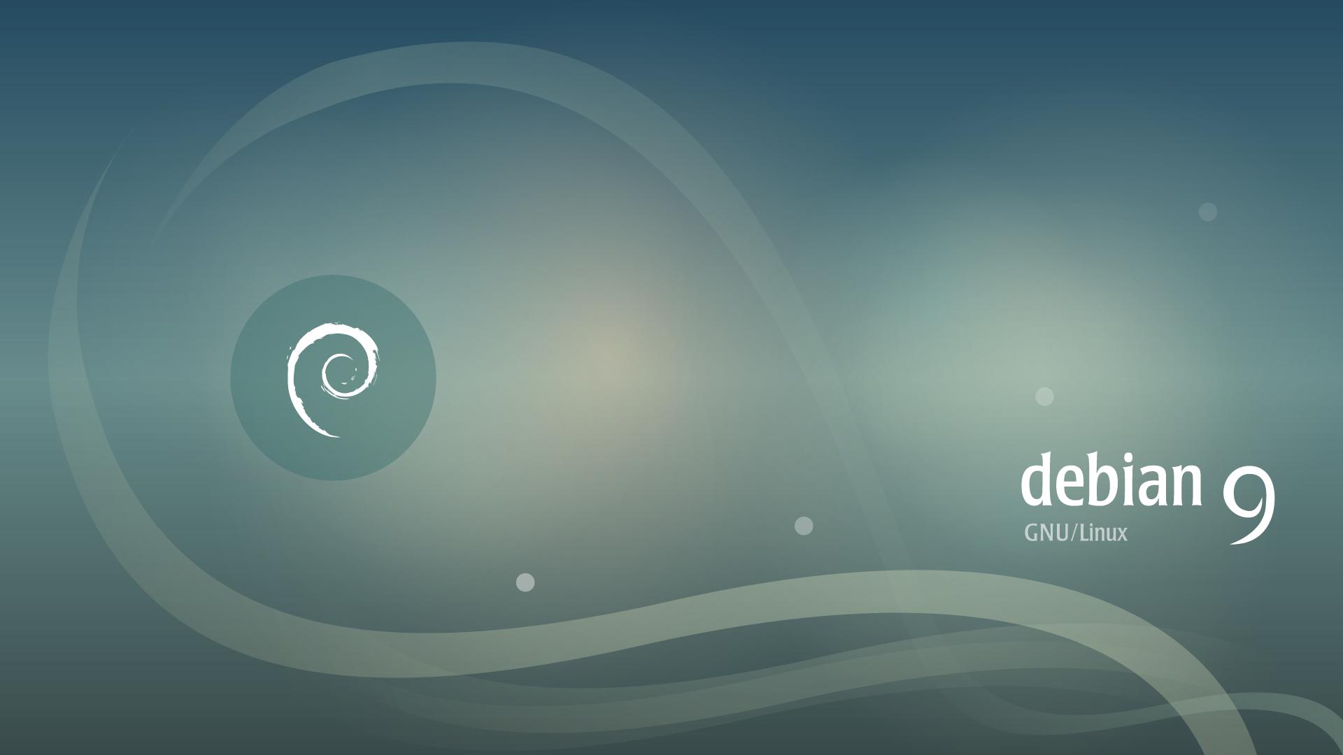 Debian-9-1-Stretch-Linux-background-default-picture