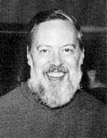 Dennis Ritchie old young picture