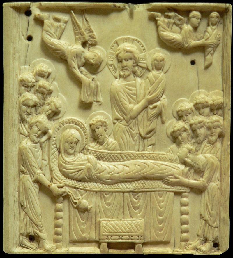 Dormition_de_la_Vierge-stone-icon