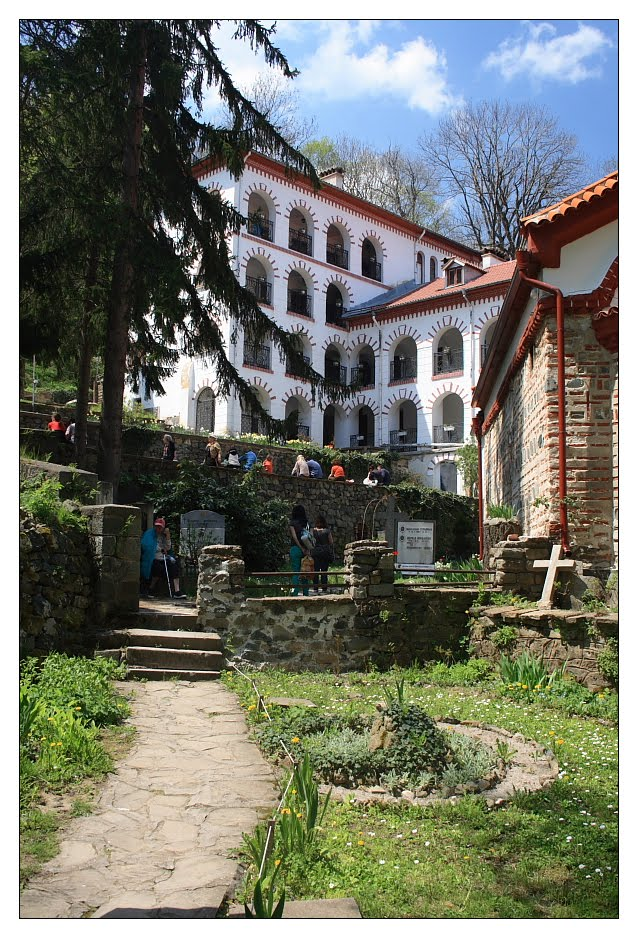 Dragalevski-manastery-monk-cells-Vitosha-mountain-Sofia