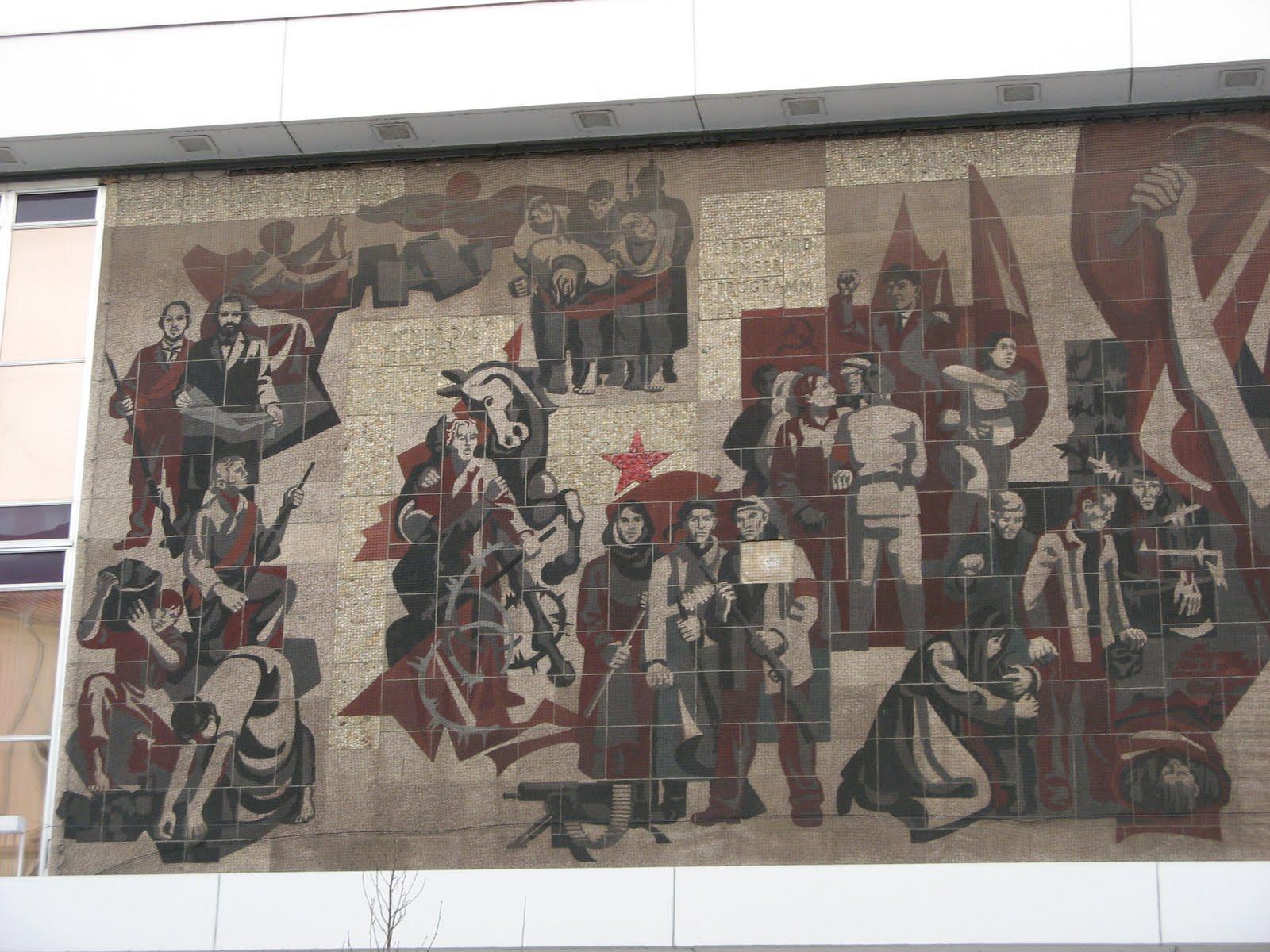 Dresden-Communism-socialism-mosaic-remains