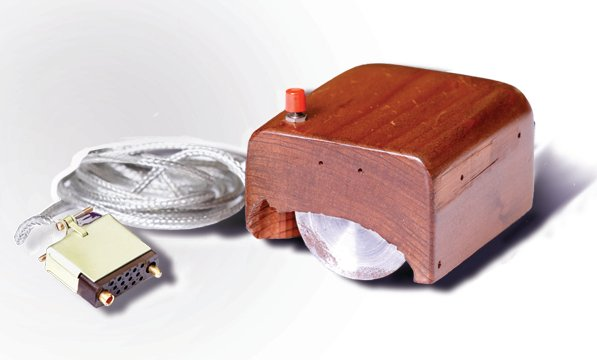First Prototype of Computer Mouse-SRI - Duuglas Engelbart creator of first computer mouse