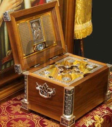 Holy Relics of Saint Alexander Nevksi kept in largest bulgarian Orthodox Church in capital city Sofia - venerate holy relics of St. Alexander Nevsky