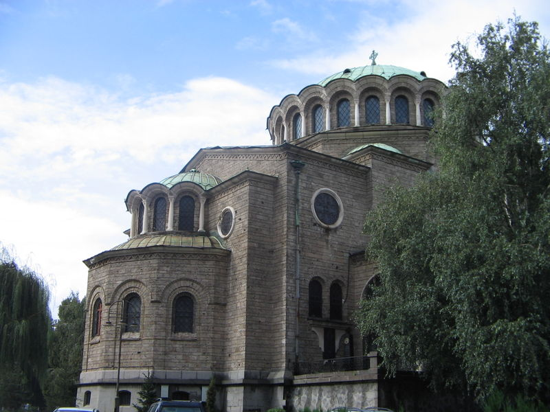 Cathedral Church of Saint Nedelia Sofia Bulgaria picture from wikipedia
