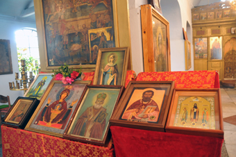Pomoriiski Manastir Holy relics
