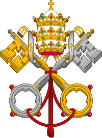 Roman catholic Church from Orthodox Christian perspective Emblem of the Papacy