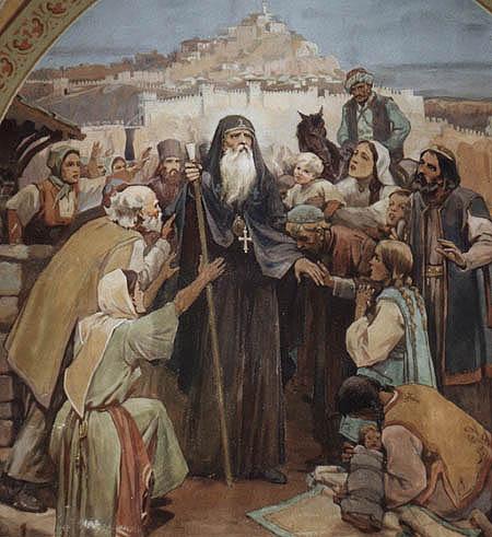 Saint-Patriarch-Eutymious-the-last-Blessing-picture-sveti_Evtimij_seten_blagoslov