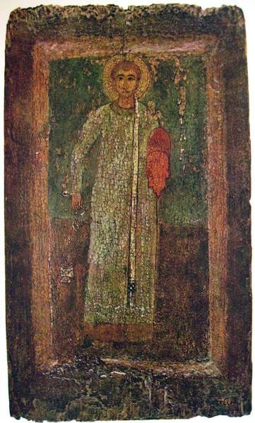 Saint Stephen Orthodox Christian Icon 11th century byzantine icon