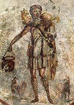 Shepherd of Hermes, The Good shepherd