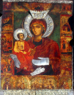 Sveta_Bogorodica-Troeruchica-Holy-Theotokos-miracle-making-icon-Troyan