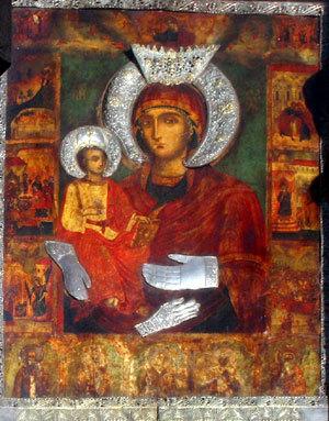 Sveta_Bogorodica-Troeruchica-Holy-Theotokos-miracle-making-icon-Troyan