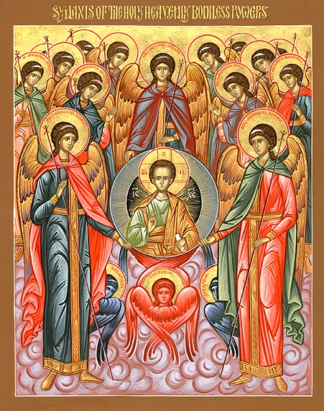 Synaxis-Assembly-of-All-The-Holy-Heavenly-Powers-Archangel-Michael