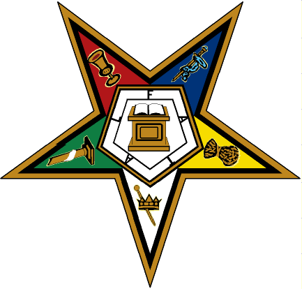 The-Masonic-and-secret-societies-Eastern-Star-Colourful-logo