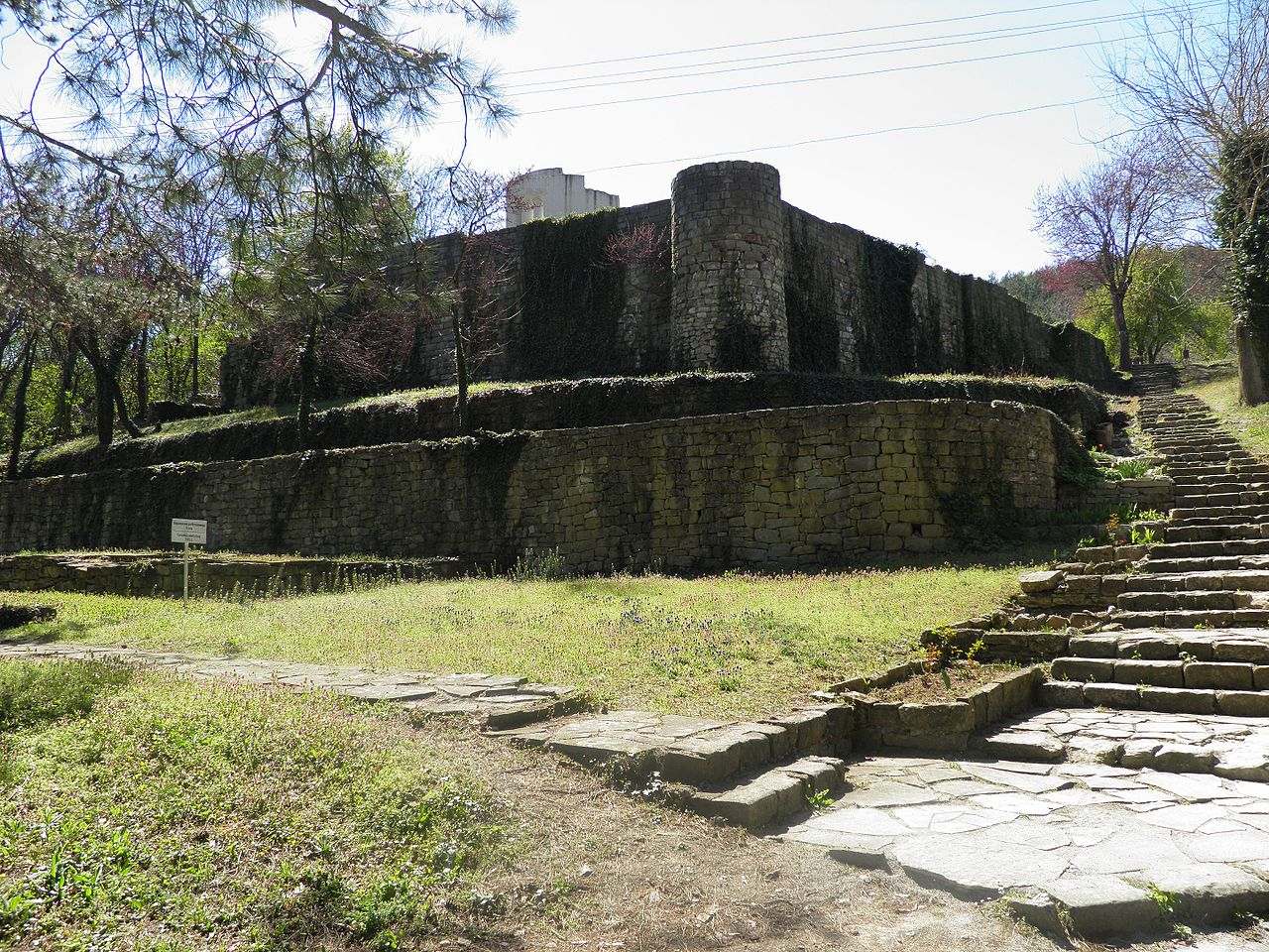 The-medieval-world-famous-Golden_Church_in_Veliki_Preslav-the-round-Church-ruins.