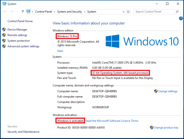 Windows-10-4gb-memory-present-only-3gb-usable-why-reason-and-solution