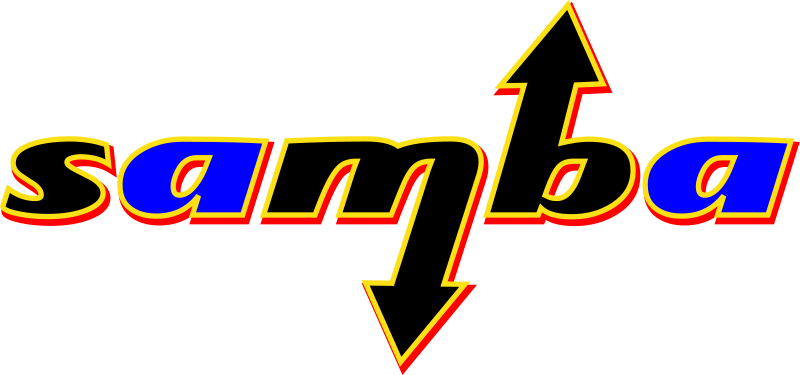 Windows sharing testing local network for open  shared directories Samba Software logo