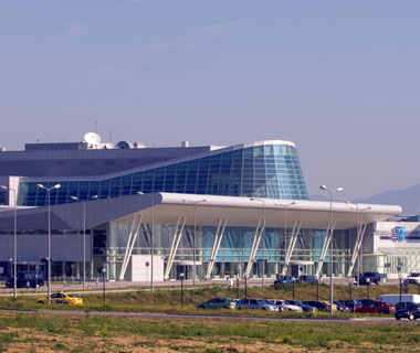 Sofia International airport Bulgaria newer Terminal2
