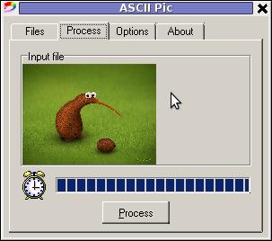 ASCII Pic Windows image to ASCII program picture shot