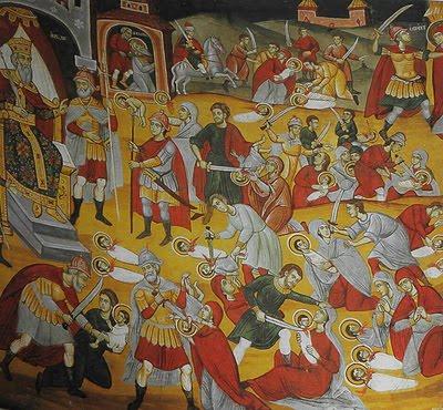 14 thousands infant martyrs Herode killed the biggest infant martyrdom in Human History