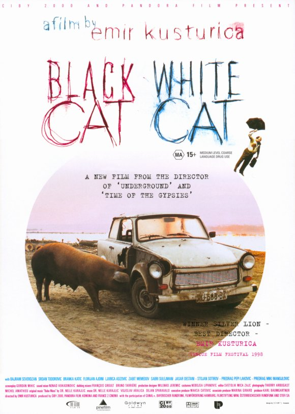 Black Cat White cat movie cover