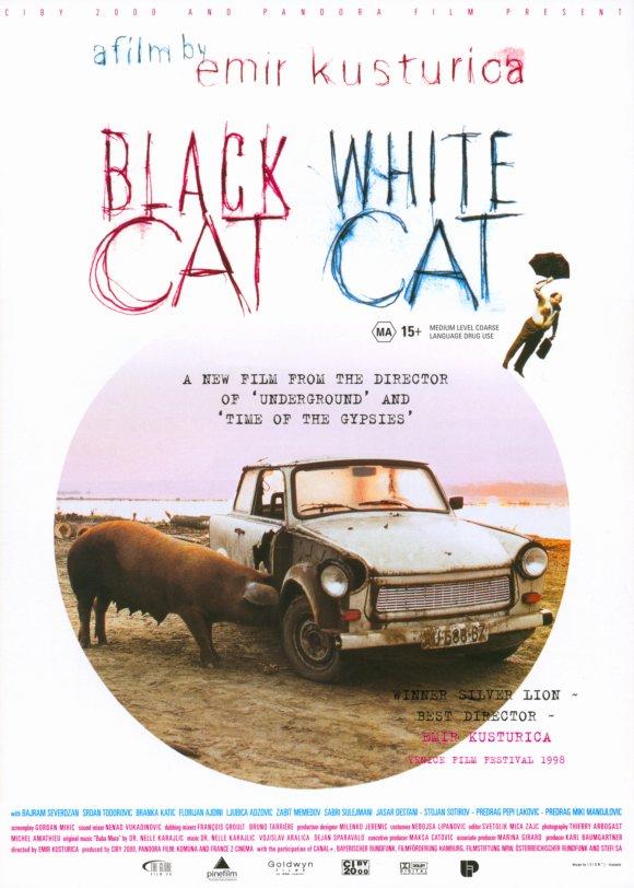 Black Cat White cat movie cover