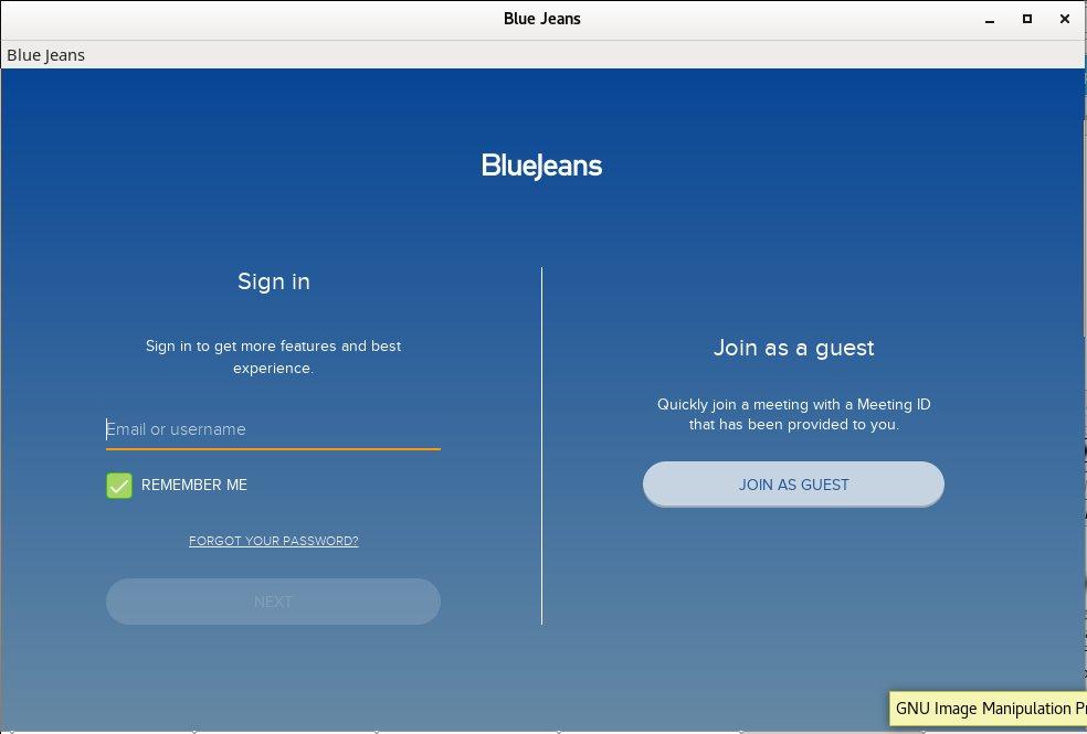 bluejeans-video-conferencing-online-sharing-meeting-software-running-on-debian-gnu-linux-screenshot