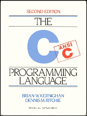 C Programming Language cover Dennis Ritchie