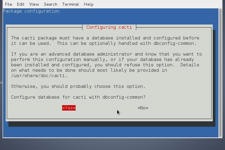 cacti-monitoring-debian-linux-installing-database-screenshot
