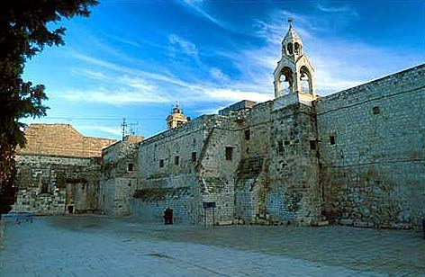 church of nativity bethlehem nowadays palestine - Jesus Christ birth place