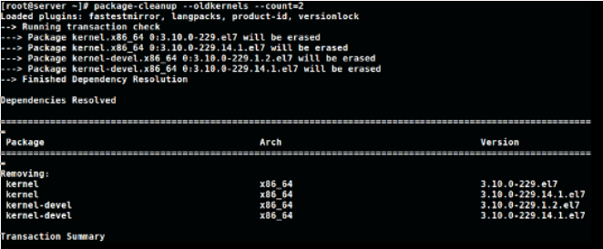 cleanup-old-kernels-linux-leave-only-set-of-2-kernels-active-on-centos-rhel-fedora