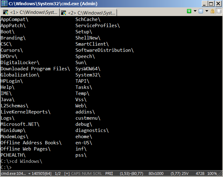 conemu-tabbed-command-prompt-cmd-wrapper-like-gnome-terminal-for-windows
