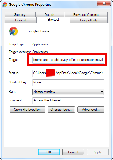 configure-chrome-to-always-install-plugins-without-confirmation-prompt-chrome-properties-windows-os-screenshot