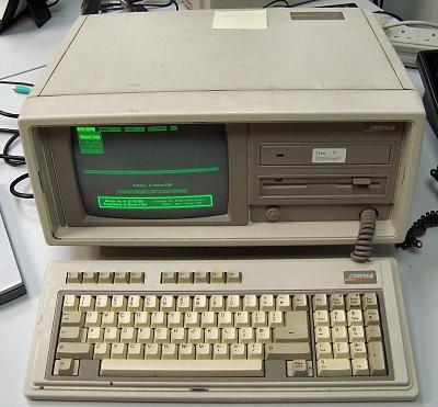 DEC Compaq portable II Computer