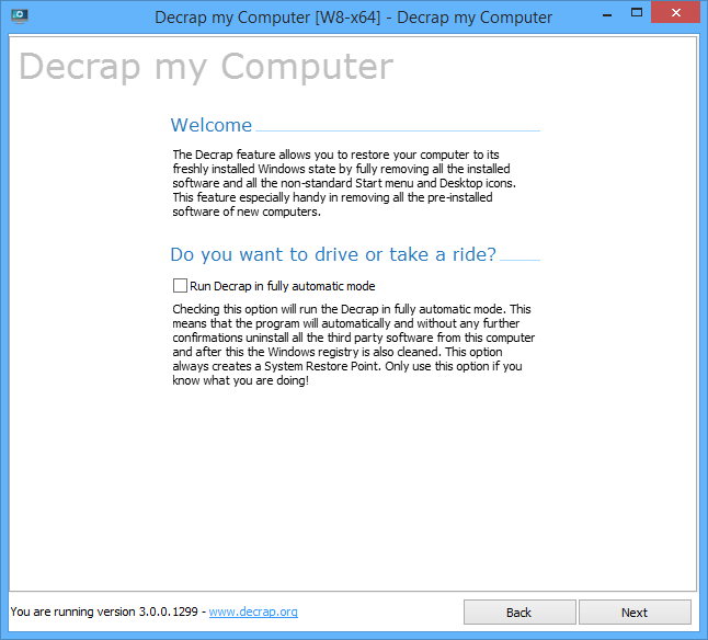 decrap-my-computer-clean-up-bloatware-crapware-on-windows-laptop-main-gui
